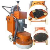 Preparación de la superficie de hormigón de la máquina amoladora de suelo con vacío