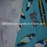 Taslon stampato con Waterproof e White Coated per Garment Fabric