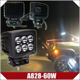 램프 5.3 인치 60W 크리 사람 LED 일 4800lumen (A828-60W)