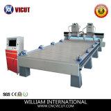 Máquina perita do router do CNC do Woodworking do fabricante (VCT-1540-2Z-4H)