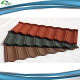 Telha de telhado revestida do metal da pedra nova da telha da telhadura lisa do projeto com alta qualidade