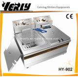 商業Double 8.5L 2 Tank 2 Basket Electric Deep Tank Fryer (HY-902)