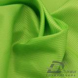 Água & do Sportswear tela 100% tecida do filamento do poliéster do jacquard do Twill para baixo revestimento ao ar livre Vento-Resistente (E054)