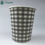 8oz Orange Coffee Bean Hot Paper Cup para Wholesale