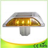 Gelber LED-Solarstraßen-Stift-blinkendes Licht mit Cer RoHS