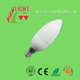 Forma CFL 7W-E14 da vela (VLC-CD-7W-E14), lâmpada energy-saving