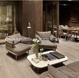 (SD-6005-1) Sofá de madeira da mobília moderna da sala de visitas do restaurante do hotel
