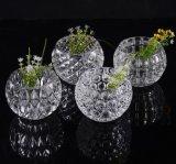 Vases clairs bon marché grands à vases en cristal en gros bon marché à approvisionnement d'usine