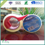 Zwei Rolls Transparent BOPP Packing Tape mit Cutter