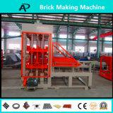 Machine de fabrication de brique concrète certifiée par qualité automatique de la CE