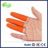 Qualität ESD-freier Latex industrielles starkes orange Orted Finger-Feldbett des Schienen-Widerstands