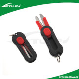 Minifischereiausrüstung mit Scheren mit Schlüsselring