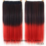 毛の拡張毛の部分の方法勾配のまっすぐなクリップ