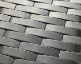 Materiales de construcción de piedra de lujo mixta mosaico inoxidable (Fysm073)