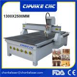 1300X2500mm spezieller konzipierter Holz CNC, der Ausschnitt-Maschine schnitzt
