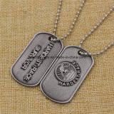 Promotion Custom Metal Embossed Dog Tag for Men