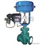 Válvula de ajuste con PFA forrado para control de flujo