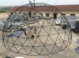 Última tienda del diseño del domo geodésico con el diámetro 10m