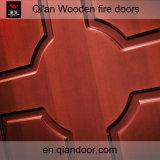Дверь твердой древесины сердечника трудной Пожар-Rated