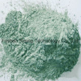 Polvo verde Sic en material de molienda
