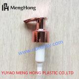 Pompa UV dorata della lozione della Rosa pp per sapone liquido