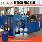 Double machine de coup d'extrusion de bouteille d'Auto-Oil de station/machine soufflage de corps creux