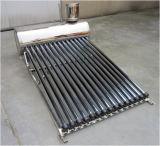 Swimmingpool-Projekt-kompakter kupferner Hochdruckring-Solarwarmwasserbereiter