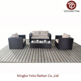 Rattan esterno Loveseat con colore differente (1105)