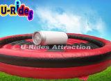 Игрушечный спортивный надувной механический бык в парке развлечений
