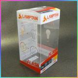 Rectángulo de empaquetado del doblez plástico claro del PVC de la alta calidad con Aduana-Talla