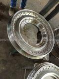 2.50-17 단단한 밖으로 금속 관 기관자전차 타이어 형