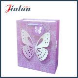Подгоняйте с мешком полого подарка бабочки 3D ежедневного бумажным