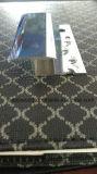 Collegamento di alluminio di lusso della moquette, bordo, colore dello specchio del bicromato di potassio