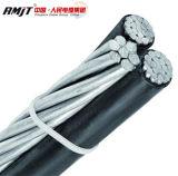 Cable aislado gastos indirectos/cable limitado aéreo del cable/ABC