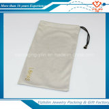 Poche adaptée aux besoins du client de velours de sac de cordon de bijoux de poche de Microfiber petite