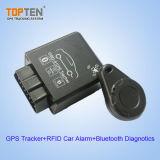 OBD2 GSM sem fio GPS Tracker com RFID e Diagnósticos Bluetooth (TK228-WL)