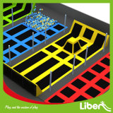 Jumping Matの大人のCheap Indoor Rectangular Trampoline