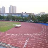 Настил стадиона спорта, резиновый легкая атлетика, циновка следа Iaaf атлетическая идущая