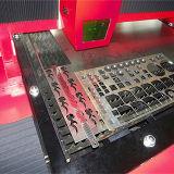 Machine de découpage duelle en métal de laser de commande numérique par ordinateur de fibre d'entraînement de matériel de laser