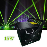 Laser quente do disco do RGB 15W da cor cheia do Sell