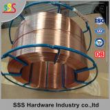 Collegare di saldatura a gas protettivo dei collegare di saldatura di saldatura del rame di qualità dell'esportazione di Emazing del CO2 rivestito del collegare Er70s-6