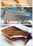 De China nueva máquina 2016 de la preparación de galletas de la oblea del bajo costo del diseño lo más tarde posible