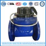 Mètre d'eau multi de pouls de bride du gicleur Dn100, matériau de fer, mètre d'eau froide
