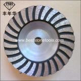 돌에게 갈기를 위한 Cw 3 터보 컵 바퀴