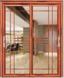 Vente chaude en aluminium de portes coulissantes