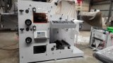 Deux couleurs autocollantes Flexo Printing and Die Cutting Machine