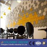 Comitato di soffitto distintivo elegante e moderno delle lane di legno