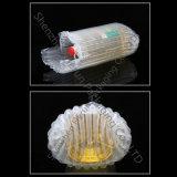 Schlag beständiger Plastik-PET Beutel-aufblasbares Kissen, das für kochendes Öl verpackt
