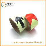 反射テープが付いている反射適用範囲が広いアームバンド