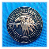 Thrones Stark Direwolf Shield Pin Lapel Metal Badgesの工場Directly Wholesale Highquality Custom Souvenir Game
